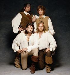 Disney's The Three Musketeers (1993), starring Oliver Platt, Chris O'Donnell, Charlie Sheen and Kiefer Sutherland
