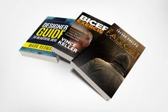 Messy Book Stack Mockup It's not everyday you will see a mockup on Covervault showing only the spine on books. However the request for this style h...