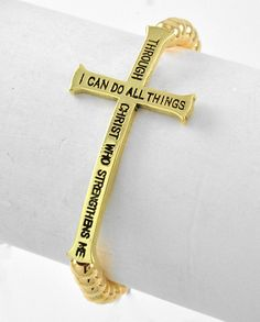 Bible Verse Stretch Bracelet