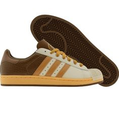 Adidas Superstar 1 (bone / wheat / leathe) 059622 - $89.99