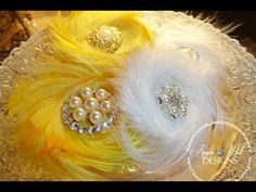 The Best Feather Flower Tutorial - YouTube