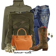 """Cowgirl Style"" by amo-iste on Polyvore"