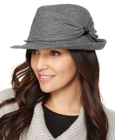 I bought a fedora hat today..like this but with stripes!LOVE