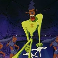 """10 Pictures That Prove Bruno Mars Is Actually Powerline From """"A Goofy Movie"""", I am so glad this happened"""
