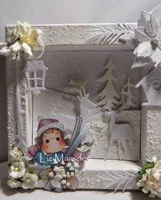 Liz's creative corner: I'm dreaming of a white Christmas