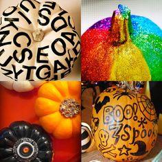 12 ways to decorate a pumpkin