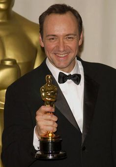 Kevin Spacey 1999 - Best Actor for American Beauty Google Image Result for http://www.everythingspacey.com/images/SpaceyOscar.jpg