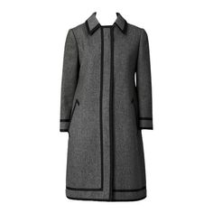Goeffrey Beene Wool Coat Dress | From a collection of rare vintage day dresses at https://www.1stdibs.com/fashion/clothing/day-dresses/
