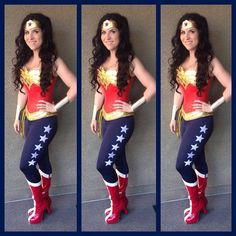 Hey, I found this really awesome Etsy listing at https://www.etsy.com/listing/254376841/wonder-woman-pants-navy-with-5-white