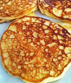 High protein and low carb are typically not the words I associate with pancakes; but this recipe shakes things up a bit!  A friend of The Fountain Avenue Kitchen passed …