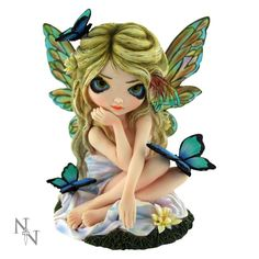 Strangeling Fairies Lily by Jasmine Becket Griffith Nemesis Now
