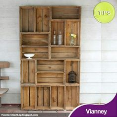 DIY Outdoor furniture a great idea!