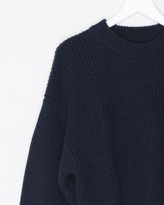 Oversized Crop Sweater