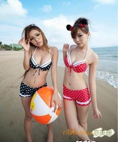 Beach bikini japan