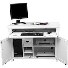 Cavalli Solid Oak Computer Desk Hideaway Hideaway