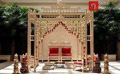 really dig this mandap! simple and elegant...Shaadi Belles : South Asian Wedding Inspiration | Indian wedding | Pakistani wedding | Indian wedding vendors