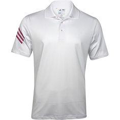 e93113598 Adidas Golf Men s Puremotion Climacool 3-Stripes Sleeve Polo