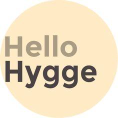 Hola logotipo Hygge