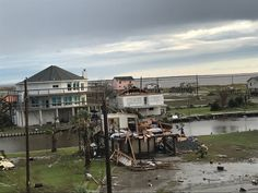 A Deltec home in Rockport, TX after Hurricane Harvey  #deltechomes
