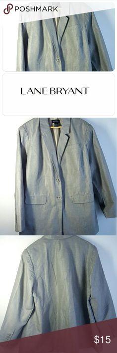 Stylish Lane Bryant blazer This versatile stylish blazer you can wear at work or after. Lane Bryant Jackets & Coats Blazers