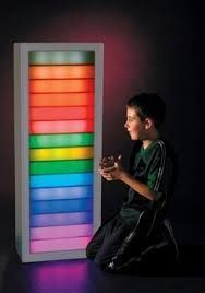 Interactive Light and Sound Panel #cheapdisabilityaids