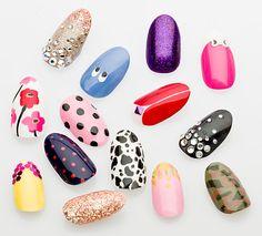 Sophy Robson's Nail Salon in London! Hot nails!