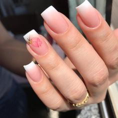 """If you're unfamiliar with nail trends and you hear the words """"coffin nails,"""" what comes to mind? It's not nails with coffins drawn on them. It's long nails with a square tip, and the look has. Matte Nails Glitter, Pink Nails, Gelish Nails, Pink Glitter, Simple Acrylic Nails, Best Acrylic Nails, Coffin Nails Long, Long Gel Nails, Broken Nails"""