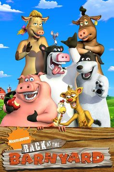 Back at the Barnyard! I loved this show Childhood Tv Shows, My Childhood Memories, 2000 Kids Shows, Old Cartoon Shows, Old Cartoon Network, Nostalgia, The Barnyard, Cartoon Background, Old Shows