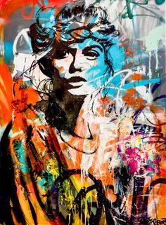 By JM Robert street art     Graffiti Wall Art, Graffiti Painting, Pop Art, Stencil Art, Stencil Street Art, Art Studio Organization, Amazing Street Art, Human Art, Artist Art