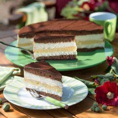 Der Name kommt nicht von ungefähr – diese Torte schmeckt nach drei Tagen im Kühlschrank durchgezogen am besten. Und lässt sich damit prima vorbereiten – wie der Name schon sagt, auch drei Tage vor dem Verzehr.