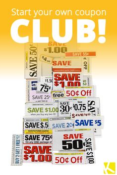 5 Tips for Starting Your Own Coupon Club