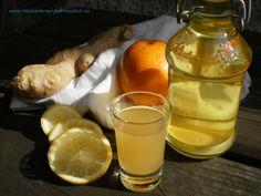 Dobrou chuť: Zázvorový likér proti chřipce