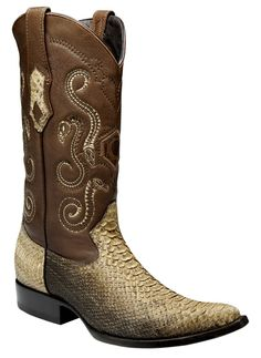 Herren Cowboystiefel Westernstiefel Schlangenleder Cuadra (handgefertigt) | eBay