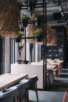 Architecture bureau DA combines Scandinavian design with Viking theme at Lodbrok restaurant in St. Coffee Restaurants, Asian Restaurants, Scandinavian Restaurant, Architecture Restaurant, Restaurant Concept, Restaurant Entrance, Restaurant Layout, Restaurant Branding, Lokal