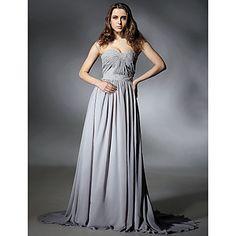 ESTELLA - Vestido de Noche de Gasa – USD $ 199.99