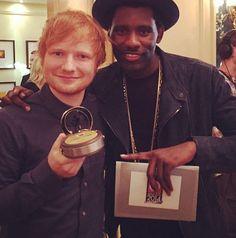 Ed Sheeran at the Xperia Access Q Awards