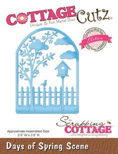 CottageCutz Days of Spring Scene (Elites)
