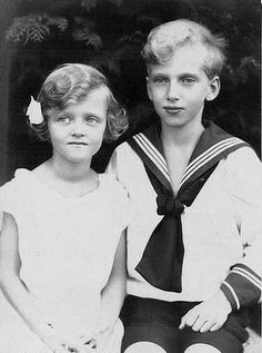 Their Imperial and Royal Highnesses Archduchess Charlotte (1921-1989) and Archduke Karl Ludwig (1918-2007) of Austria