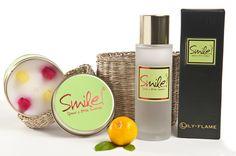 Smile geurkaars en room spray