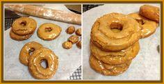 Old-Fashioned Pumpkin Donuts  #pumpkin #donuts  www.heaveninhellcakes.com Doughnut, Donuts, Pumpkin, Cake, Desserts, Food, Frost Donuts, Tailgate Desserts, Pumpkins