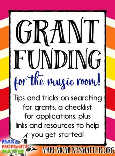 This blog post is all about grant funding, how to search for the right grant for you, and tips for writing grants.
