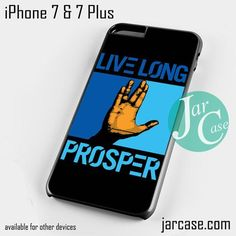 Live Long Prosper hand star trek Phone case for iPhone 7 and 7 Plus