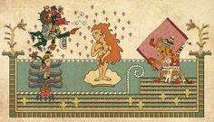 Birth of Venus (Aztec Version) on Behance