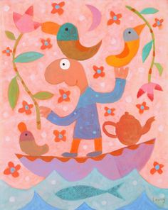 Official website of Michael Leunig, Australian artist & cartoonist. Melbourne, Sydney, Mothers Of Boys, Queer As Folk, Great Works Of Art, Face Art, Art Faces, Australian Artists, Colour Schemes