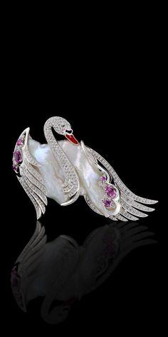 Мастер-эксклюзивные ювелирные изделия - райские птицы