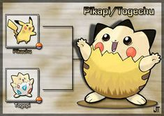 PokeFusion: Pikapi/Togechu by JT-PokeKa on DeviantArt Solgaleo Pokemon, Pokemon Fusion Art, Cool Pokemon, Pikachu Ears, Prehistoric Creatures, Cutest Thing Ever, Concept Art, Fan Art, Deviantart