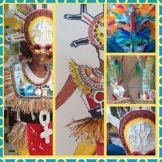 "Costume école Joseph Ignace Guadeloupe 2015 by K _ G _ Design'S C.L.I.S "" nou sé"""