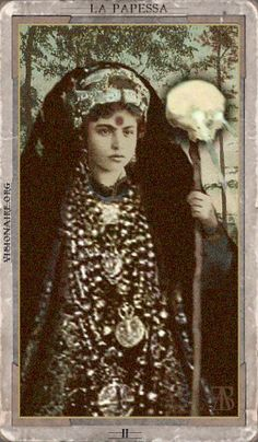 The High Priestess - wish I knew what deck this was from, if anyone knows please…