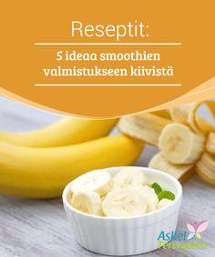 Reseptit: 5 ideaa smoothien valmistukseen kiivistä Kiivi sisältää vain vähän #kaloreita, runsaasti kuitua, sekä #vitamiineja ja mineraaleja, jotka ovat #terveydelle hyödyllisiä. #Reseptit