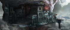 Concept Worlds by Jung Park  God of War Ascension